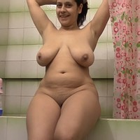 Mommy in the shower