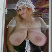 Huge chested maid