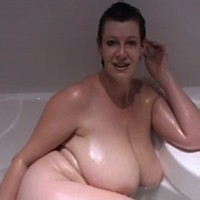 Milf in bath